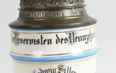 WW1 IMPERIAL GERMAN REGIMENTAL STEIN 6TH BAVARIAN