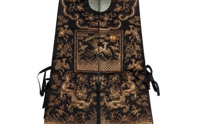 XIAPEI LADIES COURT EMBROIDERED WAISTCOAT QING DYNASTY