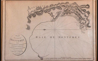 1798 Monterey California North America Map