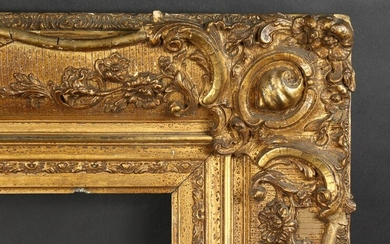 "19th Century French Gilt Composition Frame. 20.75"" x"