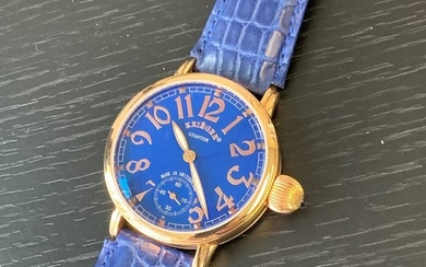 Krieger - 18k pink gold with blue Dial- K5005R.6A.6 - Men - 2011-present