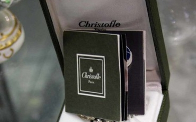 A CHRISTOFLE PAPERWEIGHT