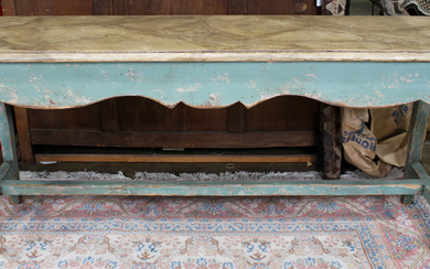A French Provincial style console table