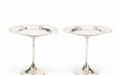 """A Pair of International """"Orchid"""" Sterling Silver"""