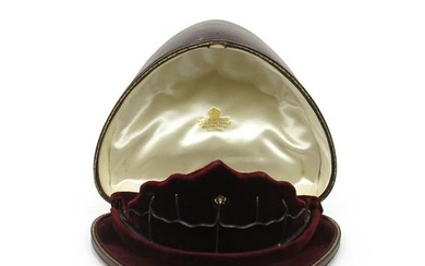 A fitted tiara case by Collingwood & Co.,...