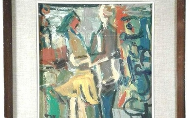 An Original Painting Dated 1965