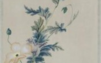 Chinese Painting Of Flowers And Bird