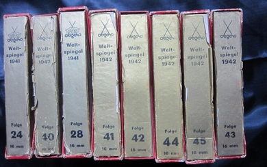 Collection of 30 ORIGINAL WW2 GERMAN 8 and 16mm films