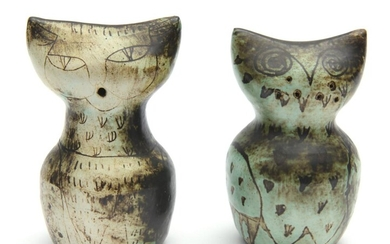 DAVID AND HERMIA BOYD, CAT SALT AND PEPPER SHAKERS