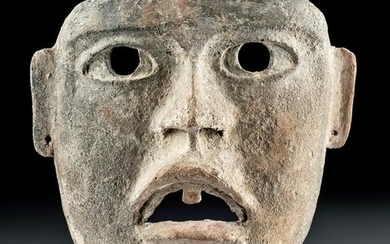 Extremely Rare Olmec Terracotta Mask, TL Tested