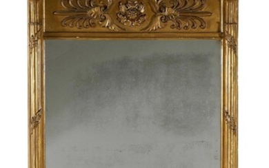 Federal style carved giltwood mirror