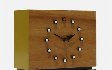 George Nelson & Associates, table clock, model 4761