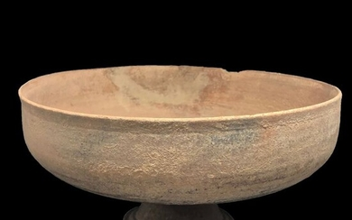Holy Land (Canaanite) Terracotta large chalice, 25,5 x 14 cm
