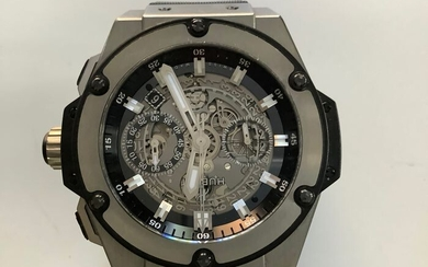 Hublot - King Power Unico Skeleton Dial TITANIUM- 701.NX.0170.RX- Men - 2011-present