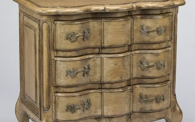 Louis XV style side chest with three drawers