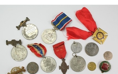 Miscellaneous Medallions, including a rare medallion commemo...