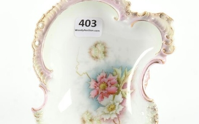 Pedestal Candy Dish, Early Unmarked Prussia