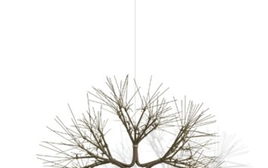 Ruth Asawa (1926-2013), Untitled (S.399, Hanging Tied Wire Open Center Six-Branched Form Based on Nature)