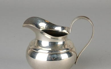 Silver milk jug, 934/000, Empire, spherical model