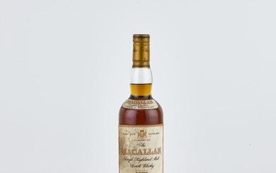 The Macallan 18 Year Old 43.0 abv 1978 (1 BT70)
