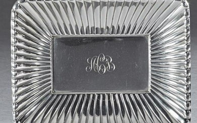 Unusual Art Deco Sterling Bowl, by Reed and Barton, #