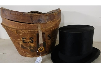 Victorian top hat by Tress & Co London, Sydney and Calcutta ...