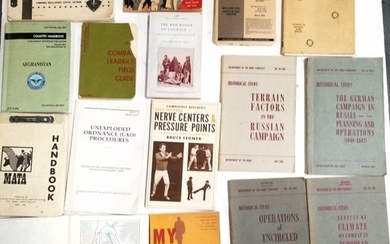 16 Book Collection US Military Army Marine Corps Vietna
