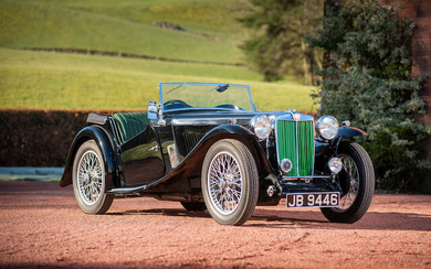 1936 MG Midget T-Series Pre-Production Sports, Registration no. JB 9946 Chassis no. TA 0267