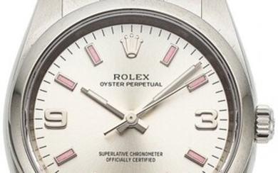54030: Rolex, Oyster Perpetual Ref. M114200, 34mm Stain