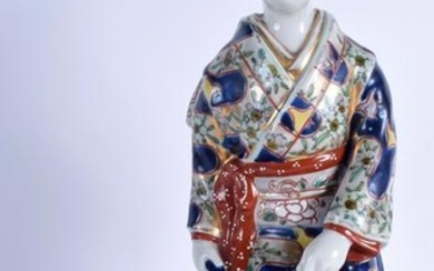 A 19TH CENTURY JAPANESE MEIJI PERIOD FIGURE OF GUANYIN