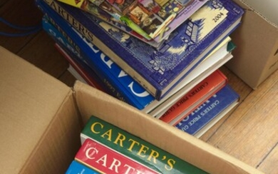 A COLLECTION OF CARTER'S PRICE GUIDES (FOURTEEN EDITIONS)