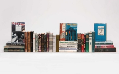 A GROUP OF MODERN AND CONTEMPORARY FIRST EDITIONS