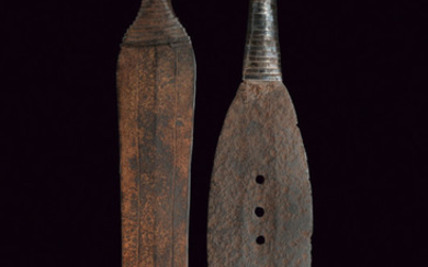 A LOT OF TWO NGALA CEREMONIAL SWORDS