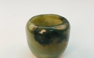 Chinese Green Jade Cup