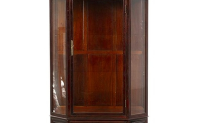 Chinese Hongmu showcase cabinet