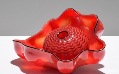Dale Chihuly Seaform Sculpture
