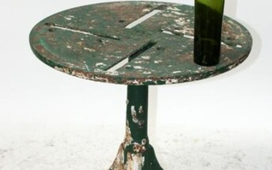 French cast iron industrial table