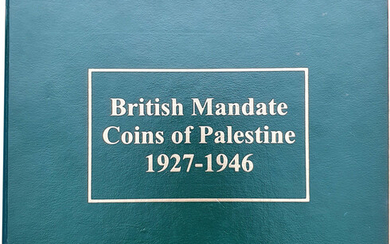 Full set of 59 coins of the British Mandate in Israel 1946-1927, Very Rare