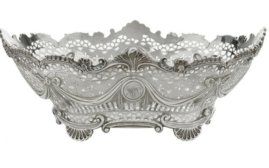 George III Sterling Silver Fruit Bowl