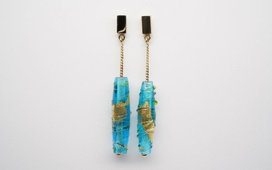 Pair of Wind & Tide Earrings 2x Murano...