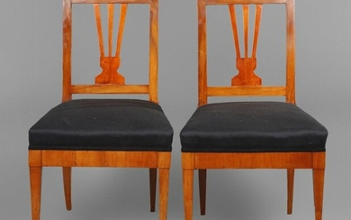 Pair of classicist chairs