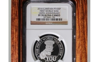 Platinum 1oz: 100th Anniversary of the First World War - Out...