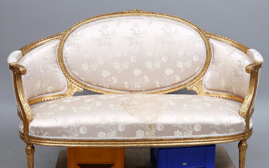 SOFA, Gustavian style, early 20th century.