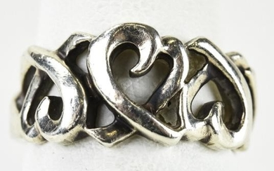 Tiffany & Co Paloma Picasso Sterling Silver Ring