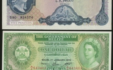 World Banknotes, group of 3 consisting of: (Pick 371a, 13b, 33c)