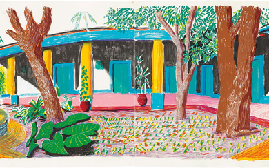 David Hockney, Hotel Acatlán: Second Day, from the 'Moving Focus' Series