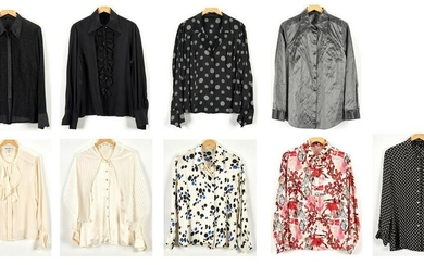 9 Escada or Escada by Margaretha Ley Blouses