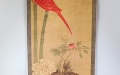 A 20TH CENTURY CHINESE PRINTED HANGING SCROLL PICTURE,