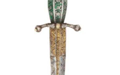 A Decorative Left-Hand Dagger In German Mid-Late 16th Century Style