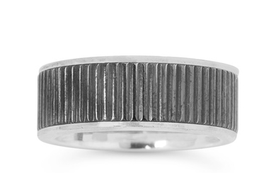 A Titanium and Sterling Silver Ring, Tiffany & Co.